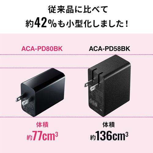 ACA-PD80BK