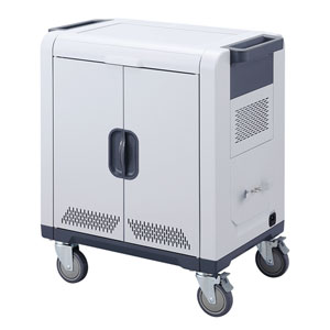 ノートパソコン・タブレットAC充電保管庫(24台収納)