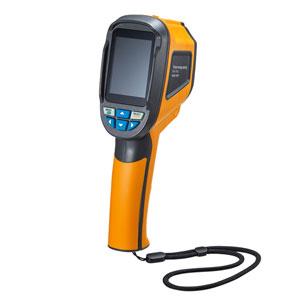 非接触での温度測定が可能な、赤外線方式のサーモグラフィ(1024画素・乾電池式)を発売