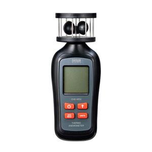 風向きが変わっても安定して測定できるカップ式デジタル風速計を発売