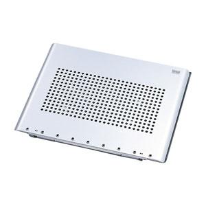 ノートパソコンを見やすい角度に調節できる、回転機能付ノートパソコンスタンドを発売