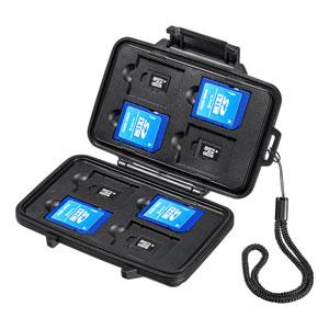 SDカード・microSDカードを水やホコリから守る防水・防塵メモリーカードケースを発売