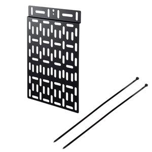 VESA規格のネジ穴を使ってディスプレイ背面に小型機器を取り付けできるプレートを発売