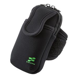 d190d1aba1 PDA-MP3C10BK【アームバンドスポーツケース(LL)】スマートフォンを腕に ...