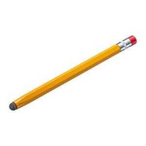 導電繊維タッチペン(オレンジ・鉛筆型)