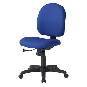 背もたれ、座面の大きいゆったりタイプで長時間座っても疲れにくいオフィスチェアを発売