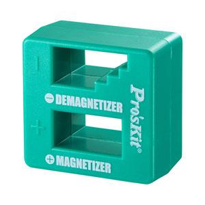 手持ちの工具を簡単に磁石化(着磁)でき、消磁もできるドライバー用マグネタイザーを発売