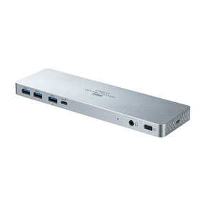 USB Type-C専用ドッキングステーション(HDMI/DisplayPort対応・PD対応)