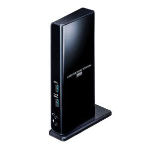 Type-C・USB3.2A接続デュアルHDMIドッキングステーション