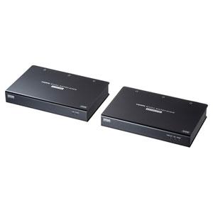 LANケーブル1本で4K解像度のHDMI信号を最大100m延長することができ離れた場所にあるコンソールで操作できるKVMエクステンダーを発売
